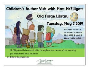 Annual Children's Author Visit: Matt McElligott