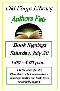 Adirondack Authors Fair and Storytelling Festival