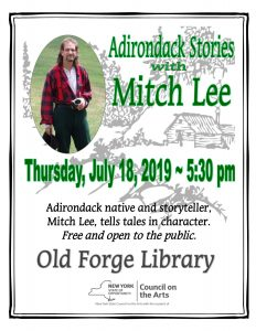 Adirondack Stories with  Mitch Lee