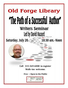 """The Path of a Successful Author"" Writer's Seminar"