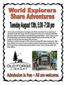 World Explorers Share Adventures!