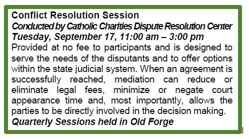 Conflict Resolution/ Mediation Sessions