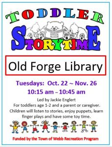 Fall Toddler Storytime