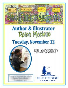 Annual Children's Author Visit ~ Ralph Masiello