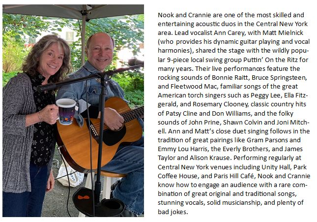 Music in the Gazebo Series : Nook and Crannie