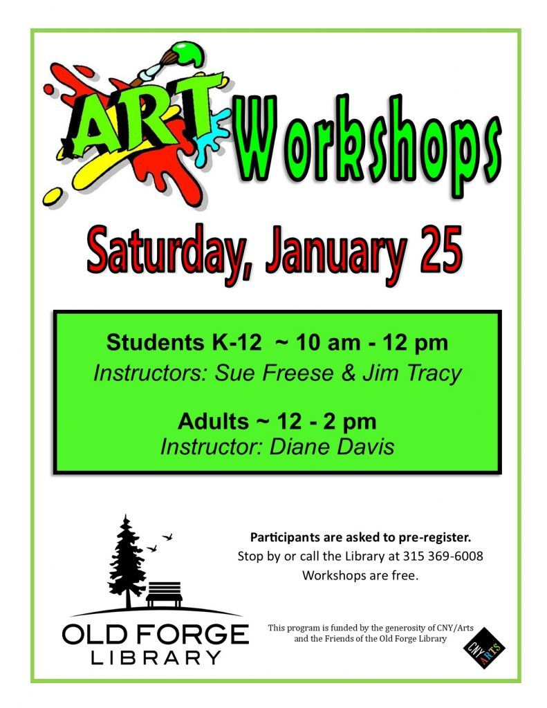 Student Art Workshops