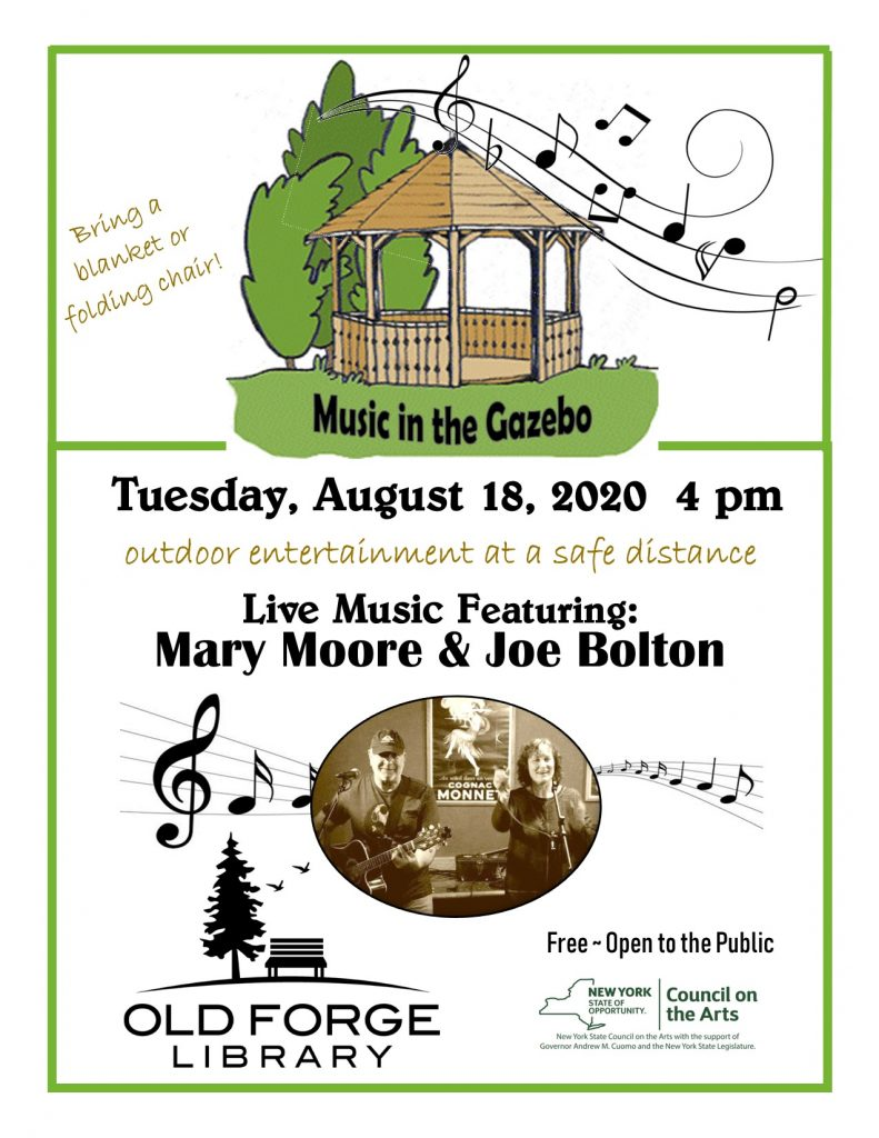 Music in the Gazebo Series: Mary Brophy-Moore and Joe Bolton