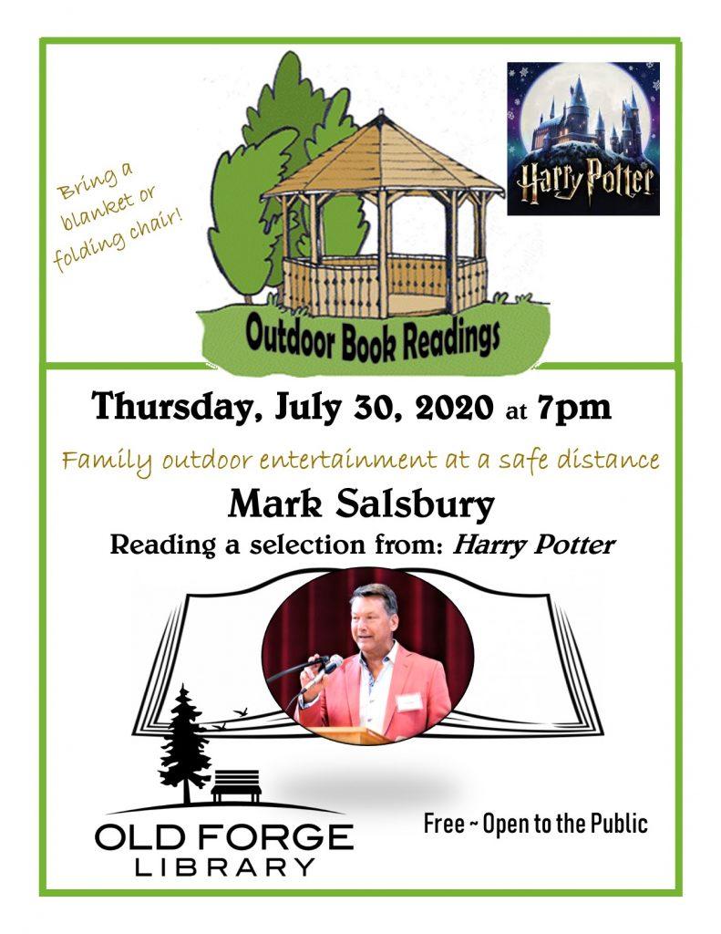 Outdoor Reading Series: Mark Salsbury