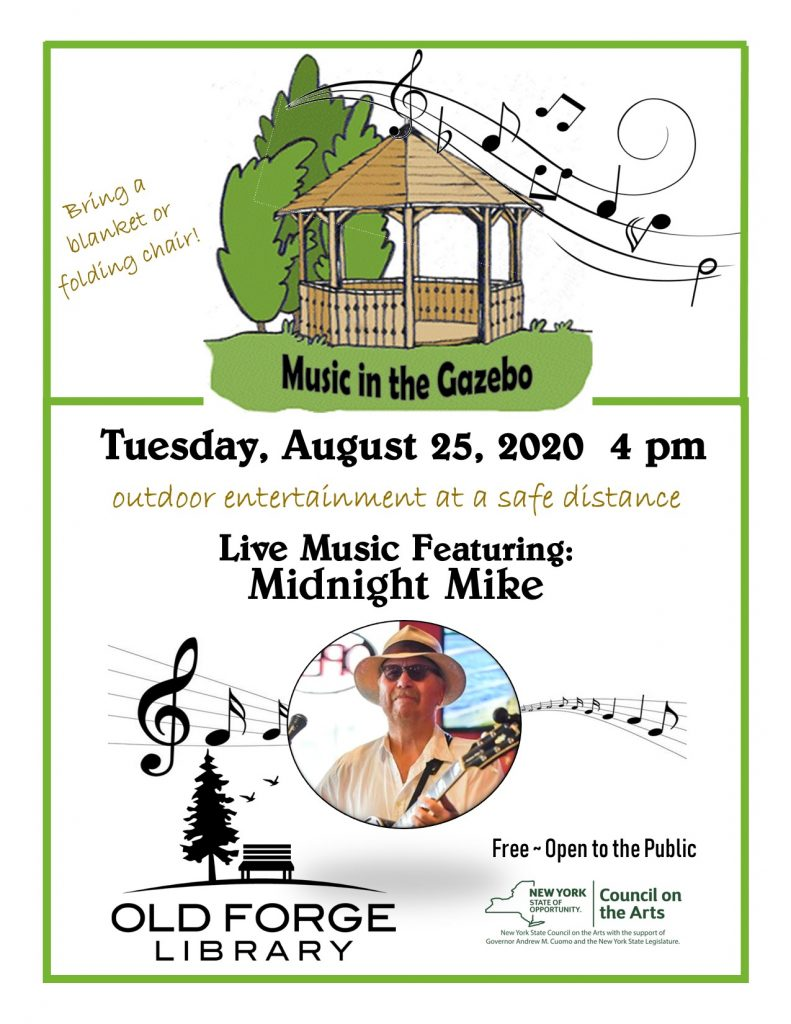 Music in the Gazebo Series: Midnight Mike