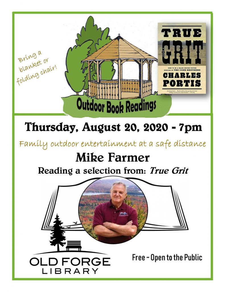 Outdoor Reading Series: Mike Farmer