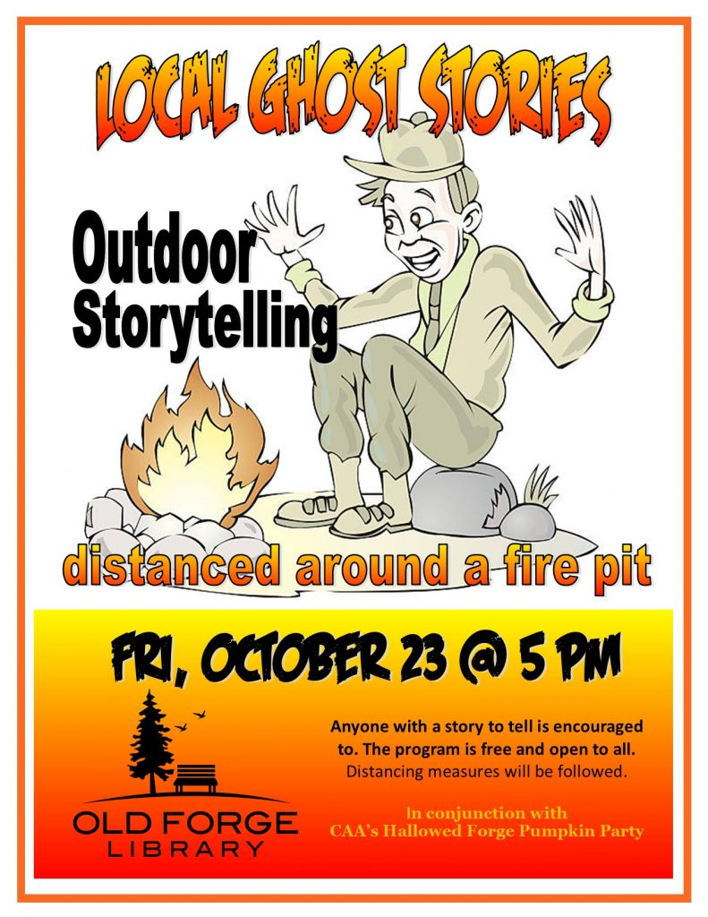 Local Ghost Stories: Outside Storytelling