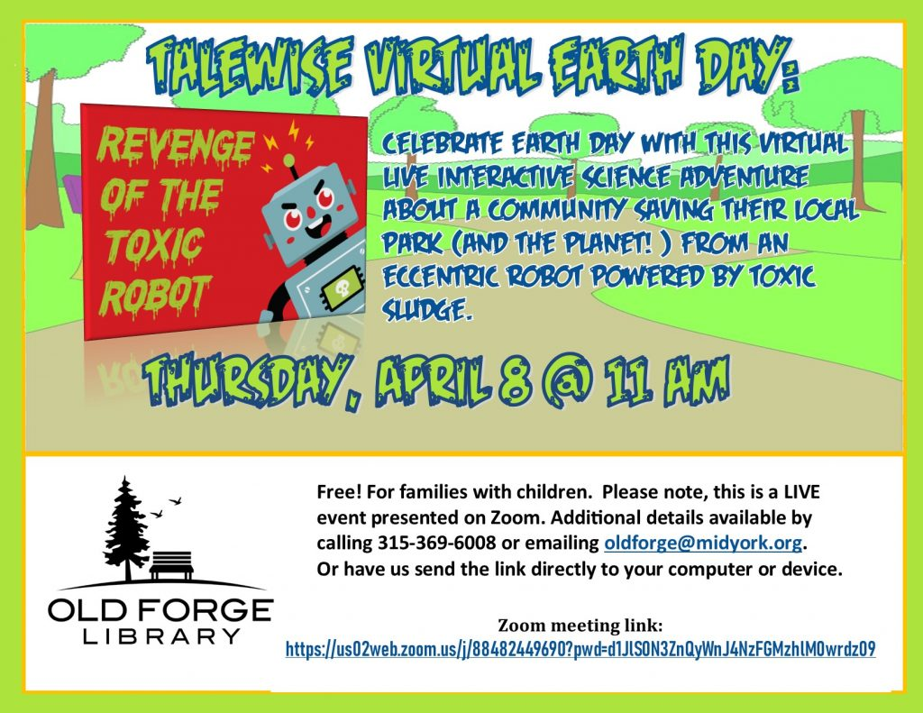 Virtual Earth Day: Revenge of the Toxic Robot