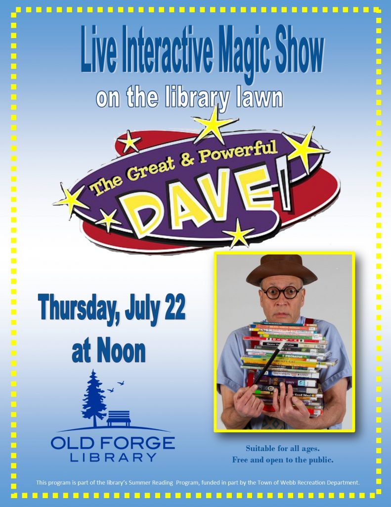 The Great and Powerful Dave ~ Live Interactive Magic Show