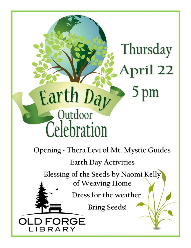 Outdoor Earth Day Ceremony