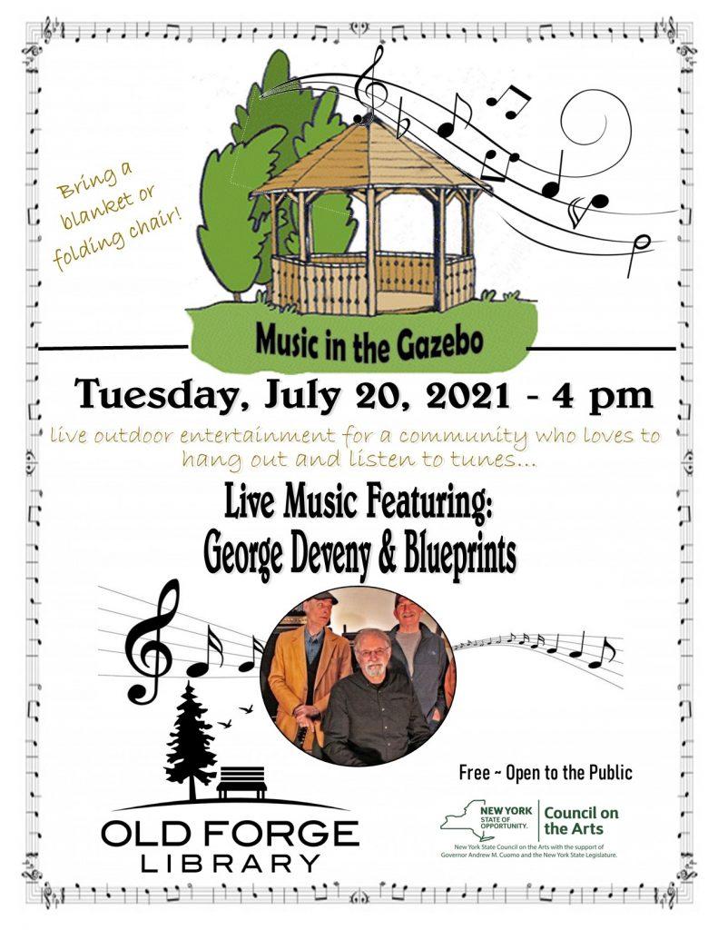 Music in the Gazebo Series: George Deveny & Blueprints
