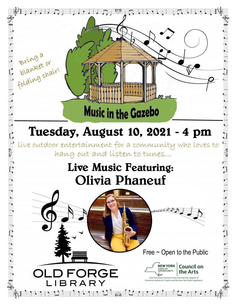 Music in the Gazebo Series: Olivia Phaneuf