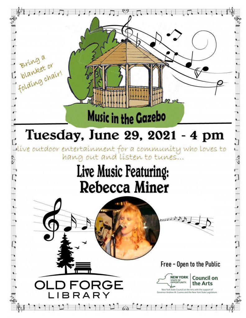 Music in the Gazebo Series : Rebecca Miner