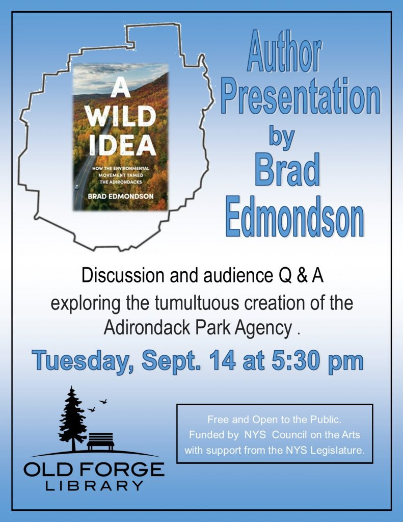 "Author's Visit ~ Brad Edmonton ""A Wild Idea"""