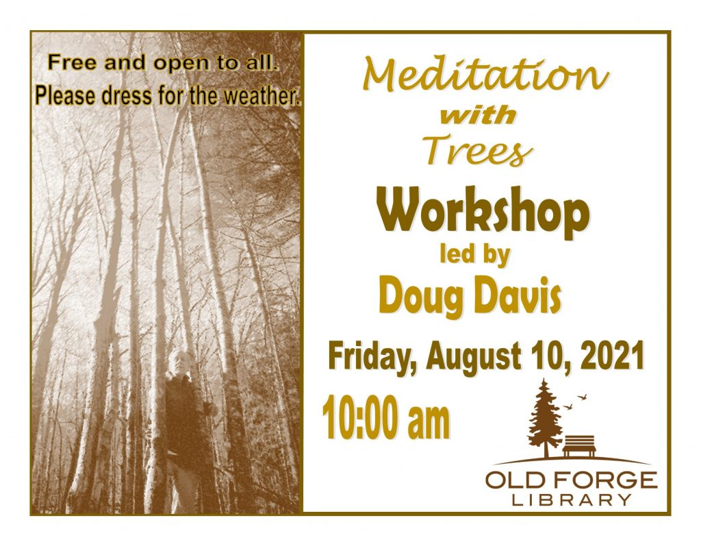 Meditation with Trees led by Doug Davis