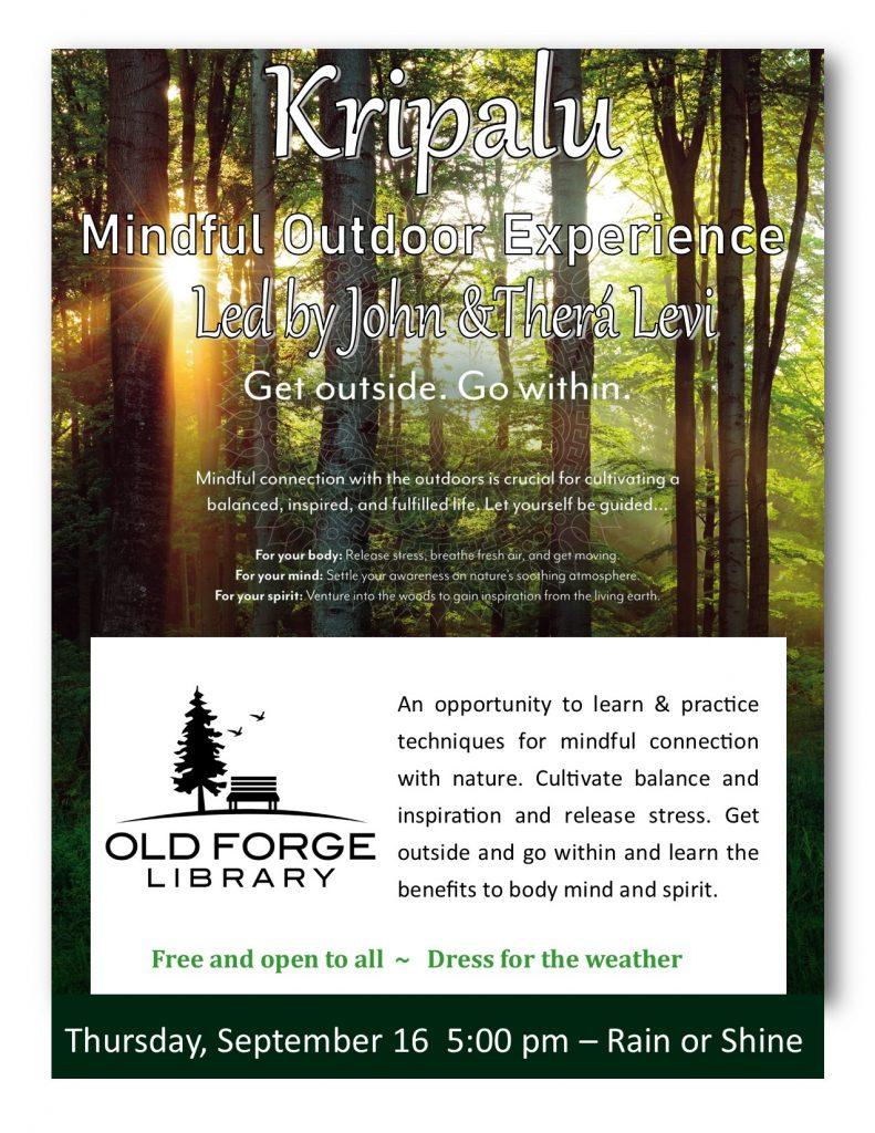 Fall Kripalu Mindful Outdoor Experience w/ Mt. Mystics Guide Co.
