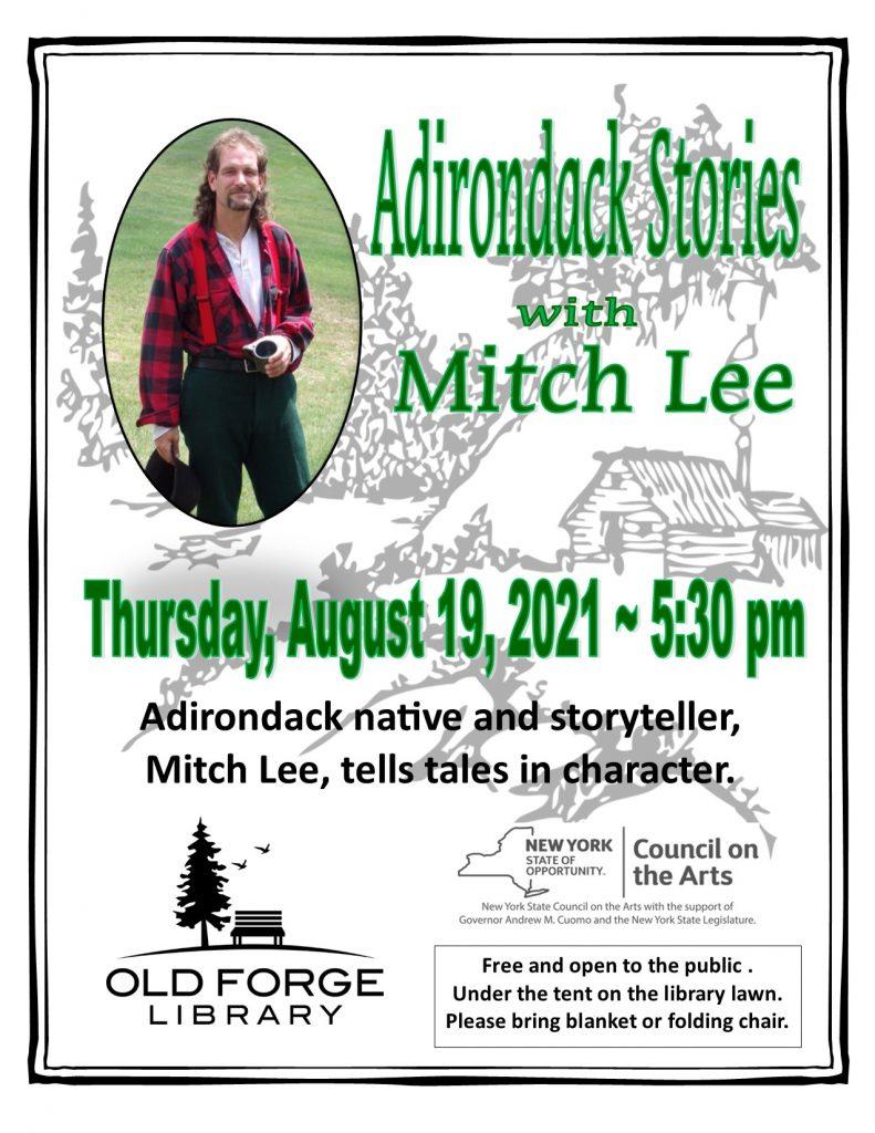 Adirondack Storyteller ~ Mitch Lee