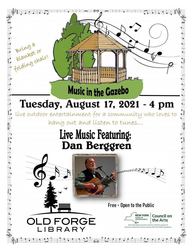 Music in the Gazebo Series: Dan Berggren